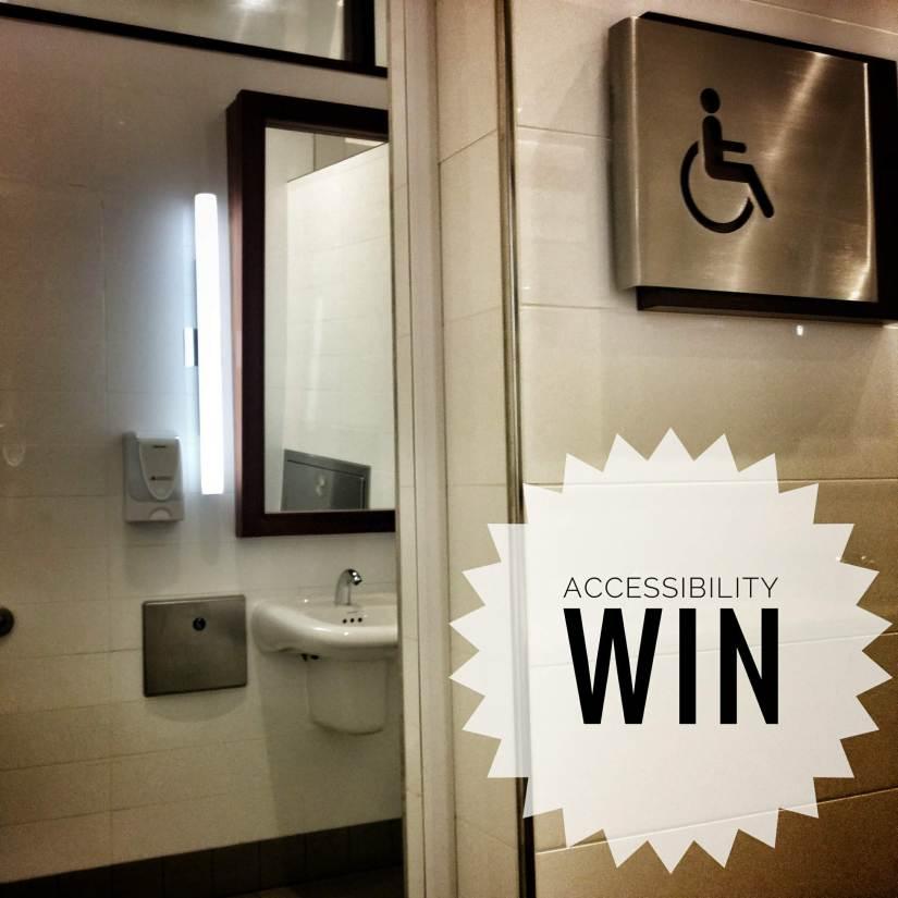 Accessibility Win