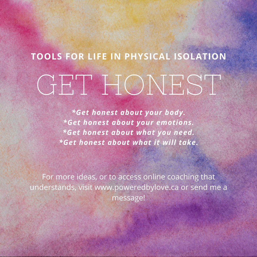 Tools for Life in Physical Isolation - Get Honest